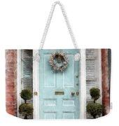 Doors Of Boston Blue Weekender Tote Bag