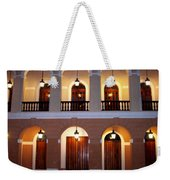 Doors Of San Juan Square Weekender Tote Bag