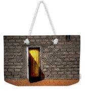 Doorway To A Yellow Curtain Weekender Tote Bag
