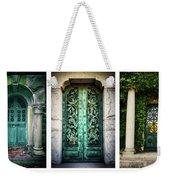 Doorways Of Woodlawn Weekender Tote Bag