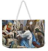 Dor�: Jesus Healing Sick Weekender Tote Bag