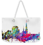 Dortmund Skyline-colorful Weekender Tote Bag