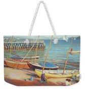 Dory Beach Weekender Tote Bag