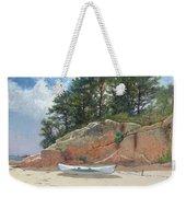 Dory On Dana's Beach Weekender Tote Bag