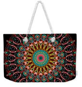 Dotted Wishes No. 4 Mandala Weekender Tote Bag