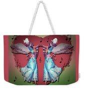 Double Angel Weekender Tote Bag