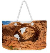 Double Arch - Arches National Park Utah Weekender Tote Bag
