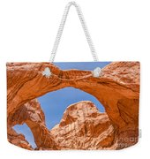 Double Arch At Arches National Park Weekender Tote Bag