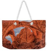 Double Arches At Arches National Park Weekender Tote Bag