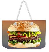 Double Cheeseburger  Weekender Tote Bag
