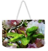 Double Cherry Blossoms Weekender Tote Bag