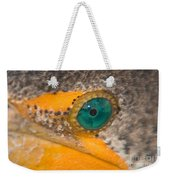 Double-crested Cormorant's Emerald Eye Weekender Tote Bag