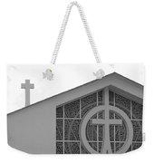 Double Cross Church Weekender Tote Bag