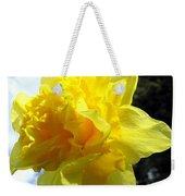 Double Daffodil Weekender Tote Bag