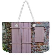 Double Doors And A Window Weekender Tote Bag