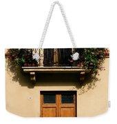 Double Doors And Balcony Weekender Tote Bag