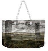 Double Exposure Landscape Weekender Tote Bag