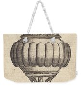 Double Goblet With Oval Decorations Weekender Tote Bag