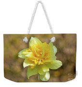 Double Headed Daffodil Weekender Tote Bag