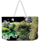 Double Moon Weekender Tote Bag