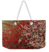 Double Quince Weekender Tote Bag