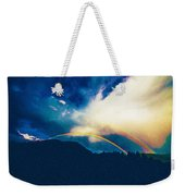 Double Rainbow Over Provo, United States Weekender Tote Bag