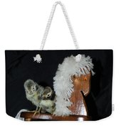 Double Seat Rocking Horse Weekender Tote Bag