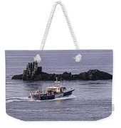Double Trouble 2 Heading Out Weekender Tote Bag