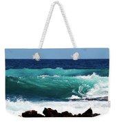 Double Waves Weekender Tote Bag