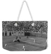 Doubles Tennis At Forest Hills Weekender Tote Bag