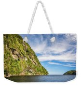 Doubtful Sound Opening To Tasman Sea Weekender Tote Bag