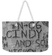 Doug And Cindy Weekender Tote Bag
