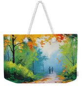 Douglas Holloway - Painting Weekender Tote Bag