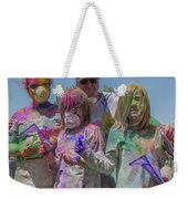 Doused With Color 3 Weekender Tote Bag