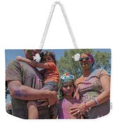 Doused With Color Weekender Tote Bag