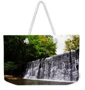 Dove Lake Waterfall Weekender Tote Bag