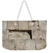 Dove On The Kotel Weekender Tote Bag