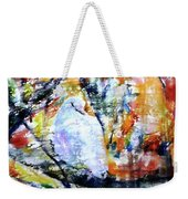 Dove On The Yellow Tree Weekender Tote Bag