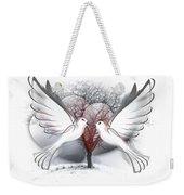 Doves Of Peace Weekender Tote Bag