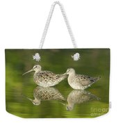 Dowitcher Reflections Weekender Tote Bag