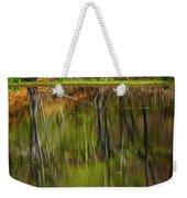 Down At Pecks Pond Weekender Tote Bag