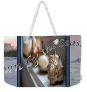 Down By The Seashore Weekender Tote Bag