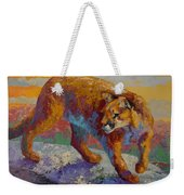 Down Off The Ridge - Cougar Weekender Tote Bag