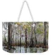 Down On The Bayou - Digital Painting Weekender Tote Bag by Carol Groenen