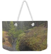 Down Pour At Boulder Cave Weekender Tote Bag