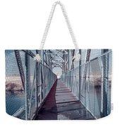 Down The Bridge Weekender Tote Bag