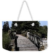 Down The Bridge Weekender Tote Bag