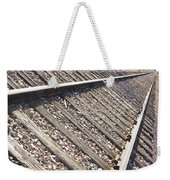Down The Railroad Weekender Tote Bag