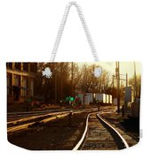 Down The Right Track 2 Weekender Tote Bag