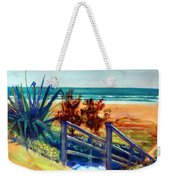 Down The Stairs To The Beach Weekender Tote Bag